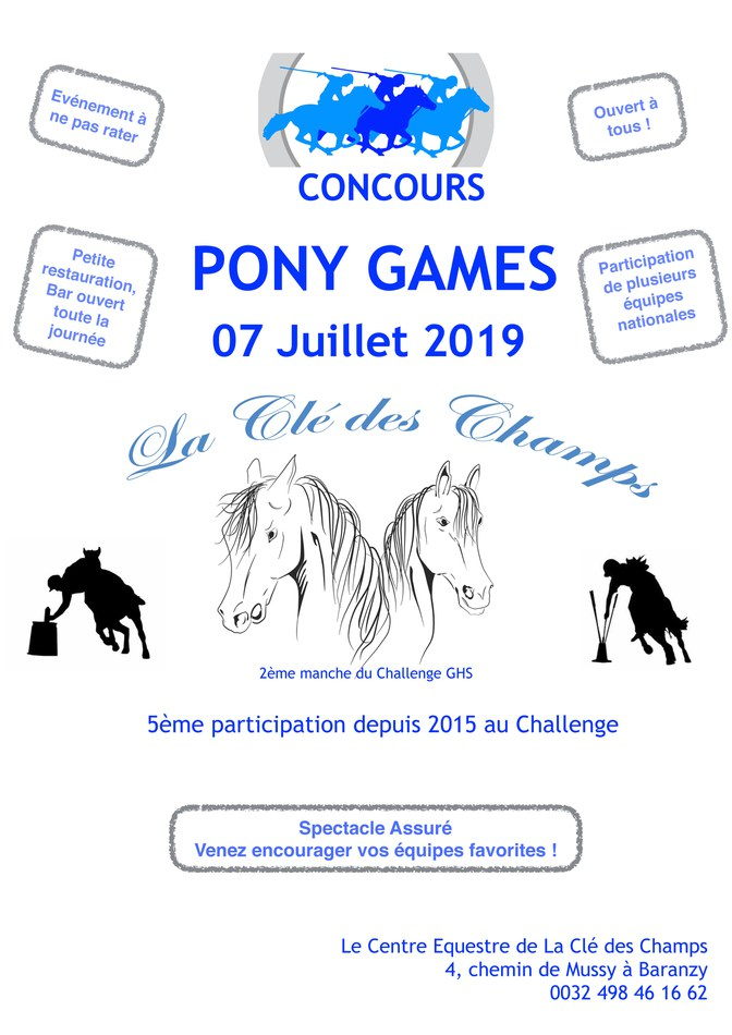 Poney Games 2019