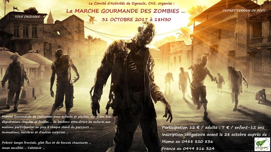 Marche des zombies Afficheh